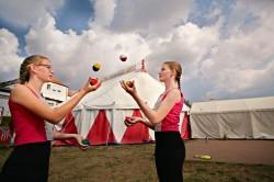 Das wird der Hit: Herbstferien im Zirkus Schnipp: ausgebucht - für Warteliste bitte unter 09741/913200 oder info@volkersberg.de melden!