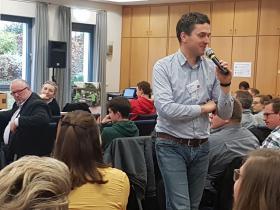 Dr Martin Kempen im Aktivvortrag