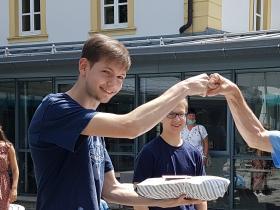 Florian Brust und Klaus Hofmann
