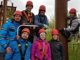 Zirkus und Hochseilgartenausbildung HSG Trainer neu 1