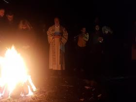 Gottesdienst am Lagerfeuer